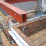 house extension in construction